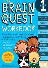 Brain Quest Workbook: Grade 1 Math