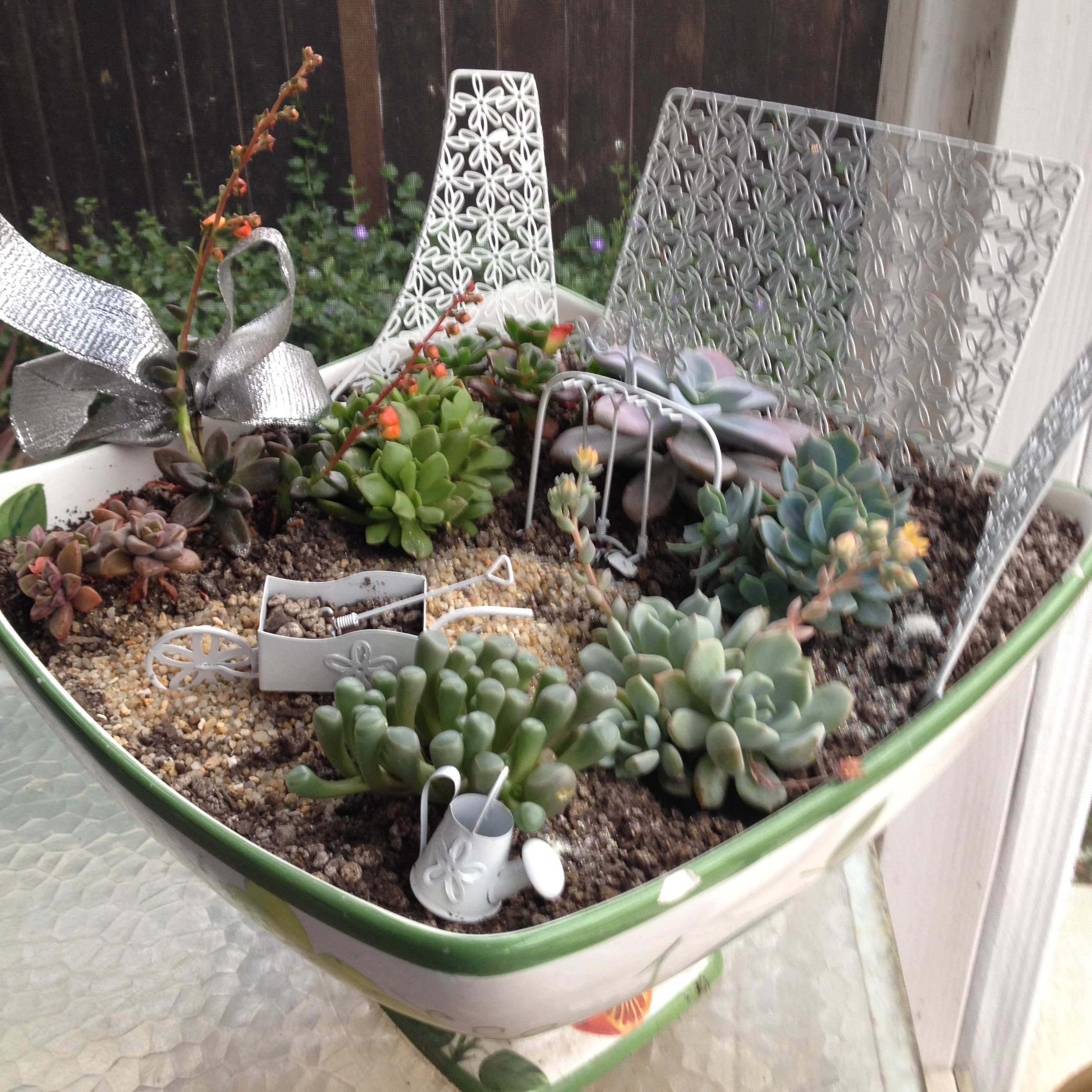 Fairy Garden for a Kid to Build