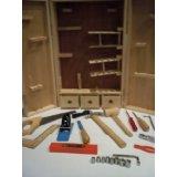 Childrens 15 pc Tool Set Wood Case 1st Carpenter Set