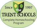 Trent provides a complete online homeschooling program for grades 1 - 12.