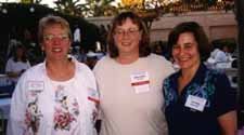 Ann Zeise, Barbooch, and Linda Dobson