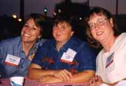 Nancy Wooton, Lisa Bugg & Barb