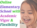 California Oaks Academy is an online elementary school that provides our students with the attention and academic vigor of a private school, with the flexibility of a homeschool.
