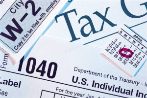 Tax forms, taxes and homeschooling